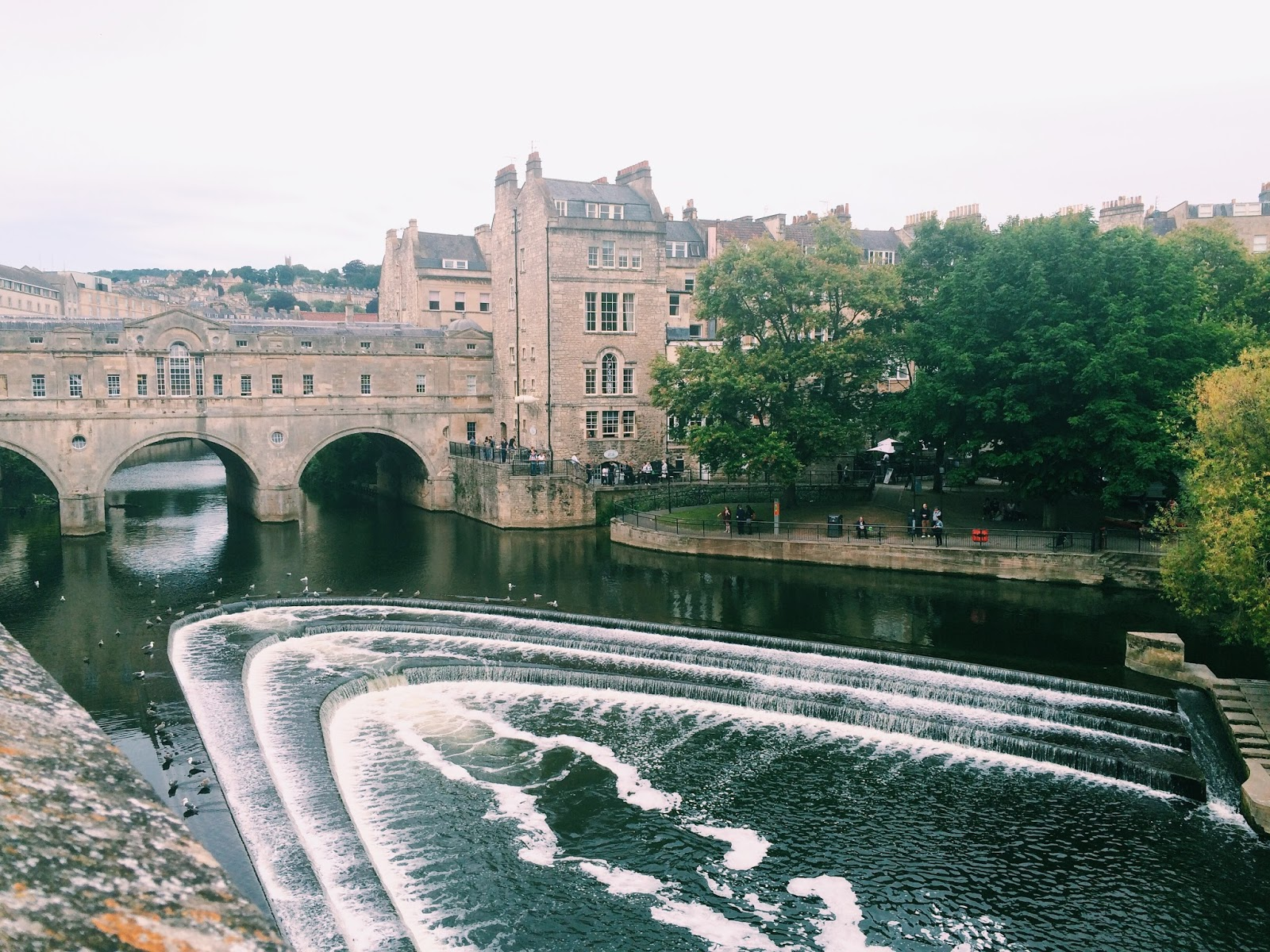 River Avon in Bath, England