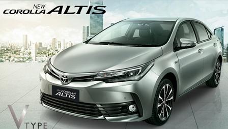 Promo Kredit Toyota Altis 2018