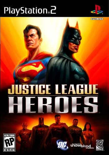 Justice League Heroes (NTSC) PS2 Torrent 2006