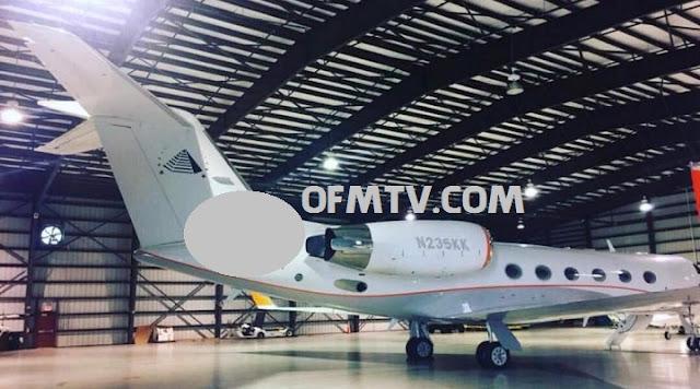 Zylofon boss, Nana Appiah Mensah's private jet