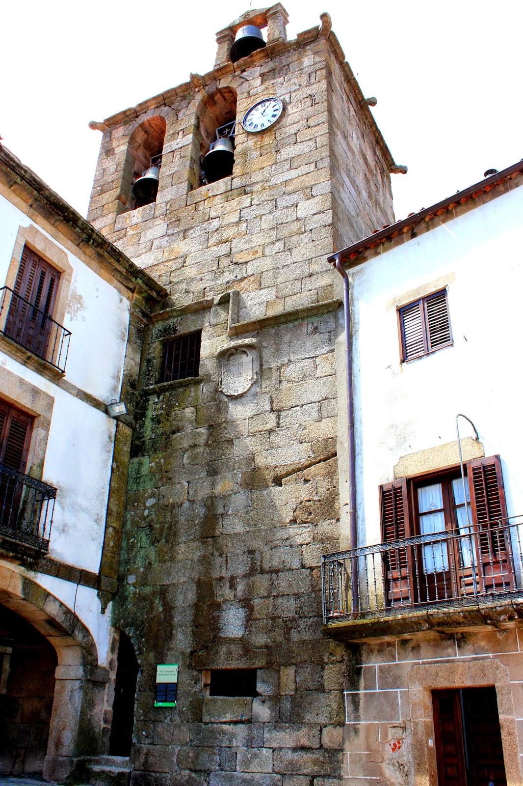 Torre Campanario en Robledillo de Gata