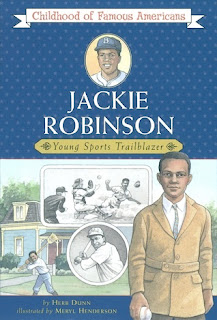 bookcover of JACKIE ROBINSON: Young Sports Trailblazer  (Childhood of Famous Americans)  by Herb Dunn