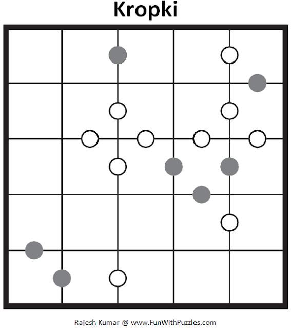 5x5 Kropki (Mini Puzzles Series #37)