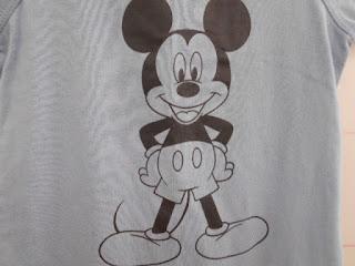 ミッキーマウスプリント