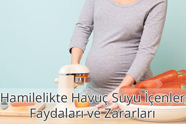 Hamilelikte Havuç Suyu İçenler