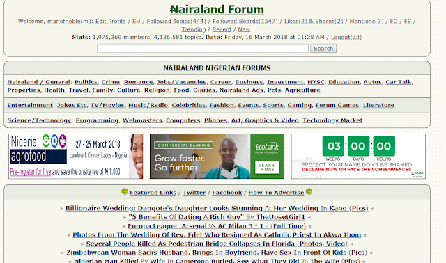 how to get dofollow backlink from nairaland
