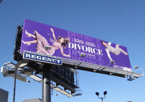 Divorce season 2 billboard