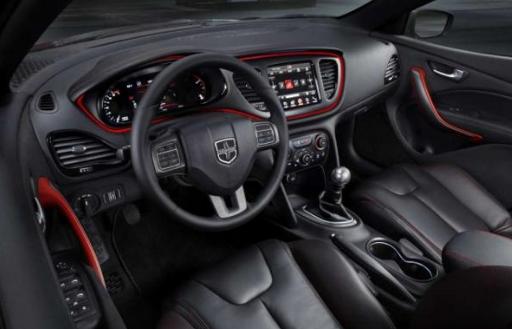 2018 Dodge Dart Srt Interior