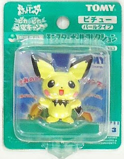 Pichu figure peraly version Tomy Monster Collection 2002 movie promo