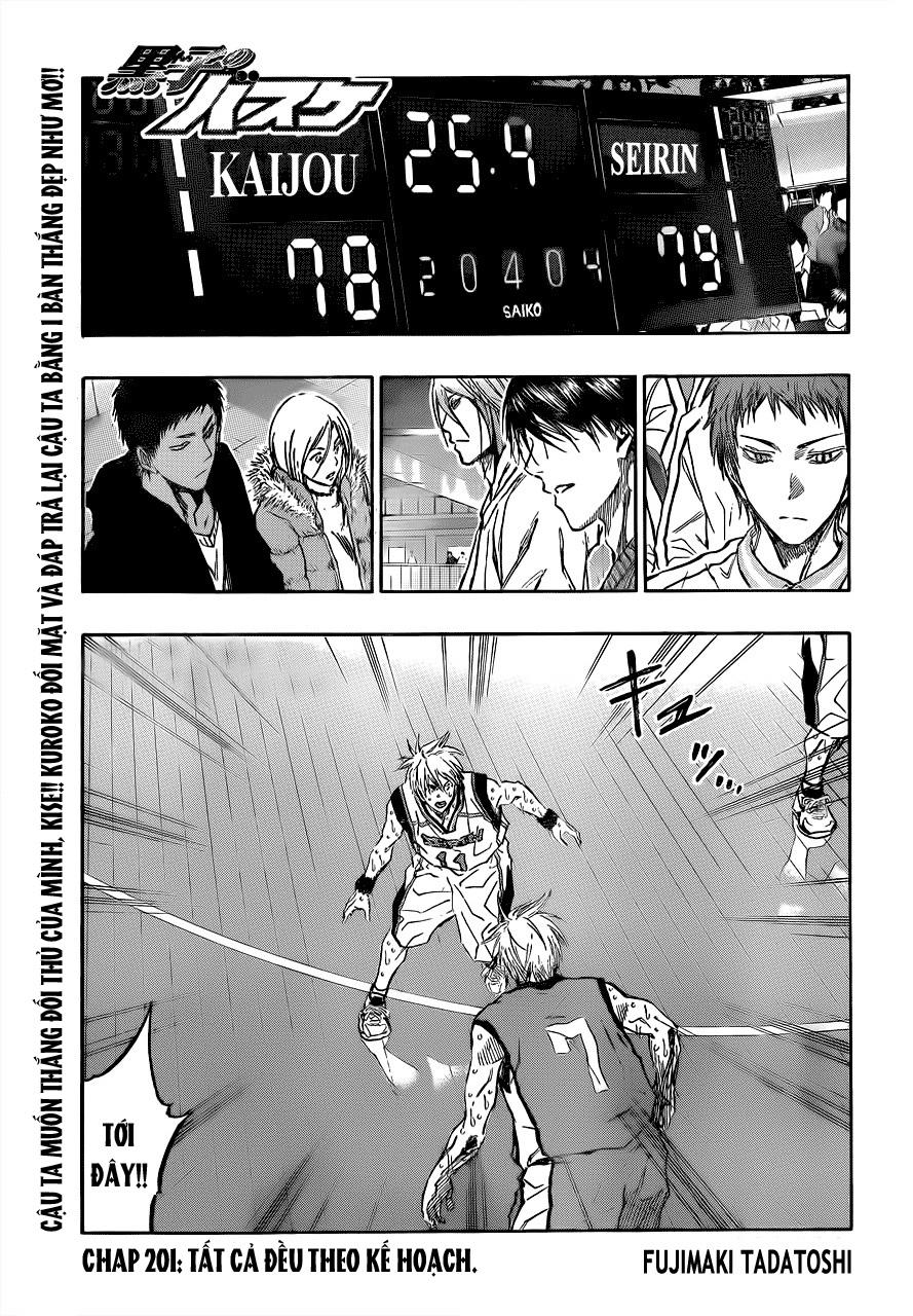 Kuroko No Basket chap 201 trang 1
