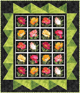 Poppy Picture Window Quilt Pattern