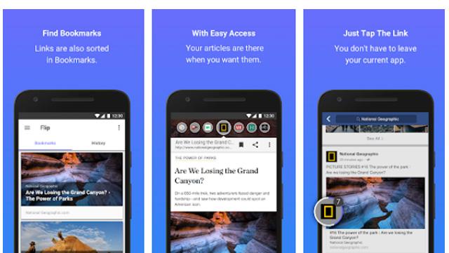 تطبيق-flip-browsers-اندرويد