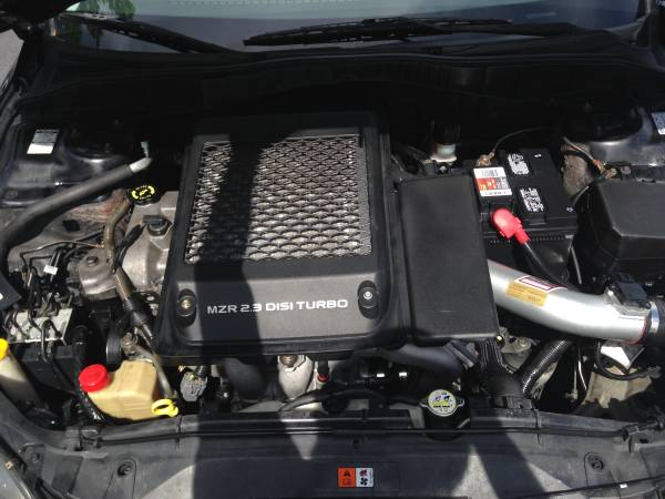 2006 Mazda Mazdaspeed 6 turbo engine