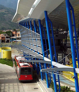 Sad Images of Hugo Chavez's Trolleybus - Terminal Ejido