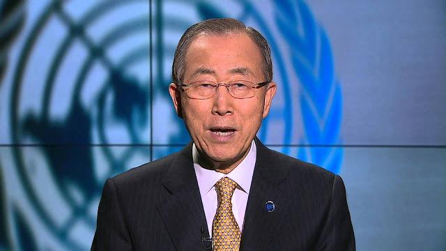 Secretário-geral das Nações Unidas, Ban Ki-moon