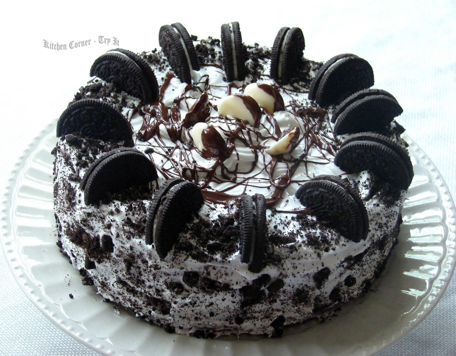 Chocolate Cake Made With Pudding And Chocolate Chips