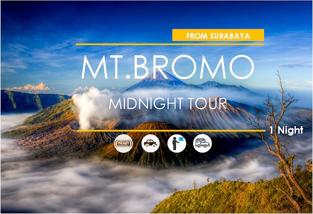 Mt. Bromo Midnight Tour [ From Surabaya ]