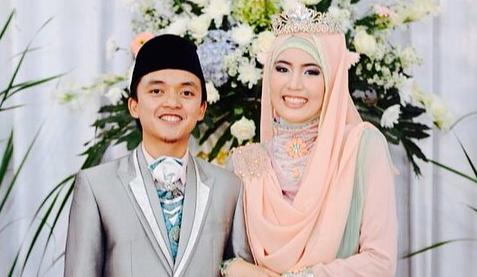 Kemarin Anak Ustadz Arifin Ilham, Sekarang Anak Aa Gym yang Menikah Diusia Muda Dengan Gadis Keturunan Tionghoa Juga