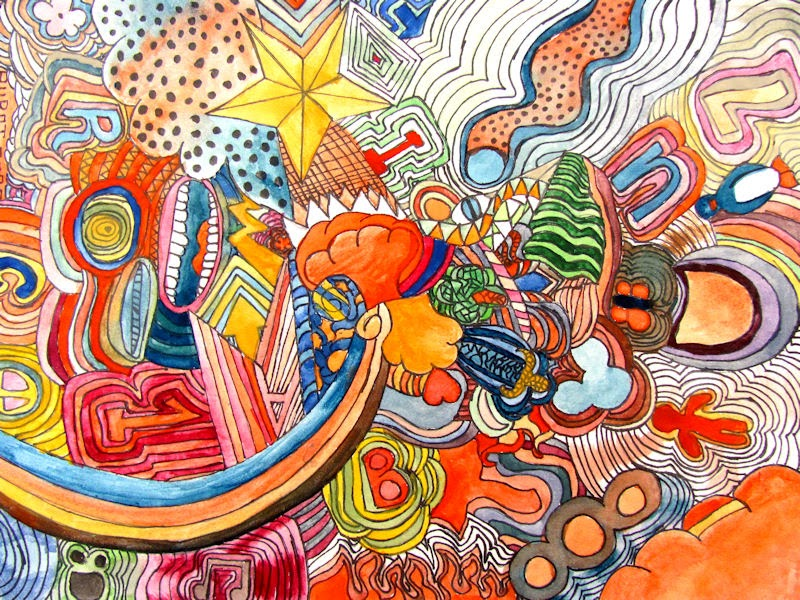 Doodles (Repetition and Rhythm) | Tri-Central Visual Art