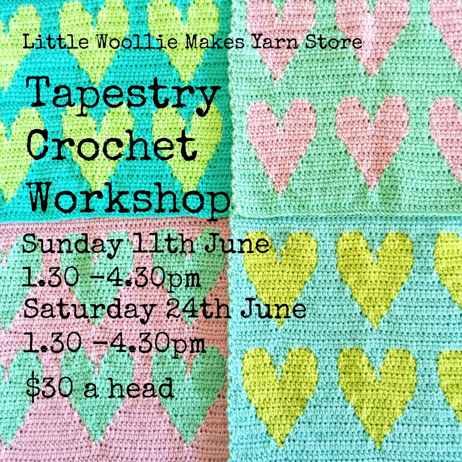little woollie: June workshops