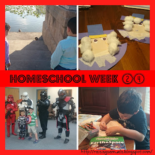 Homeschool Week 24