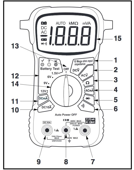 Electronics for Bachelor: Multimeter