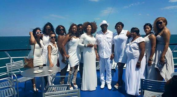 nigerian senator boat cruise beautiful ladies