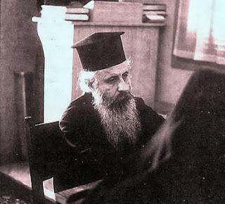Ο μακαριστός γέροντας π. Επιφάνιος  Θεοδωρόπουλος (1930-1989)