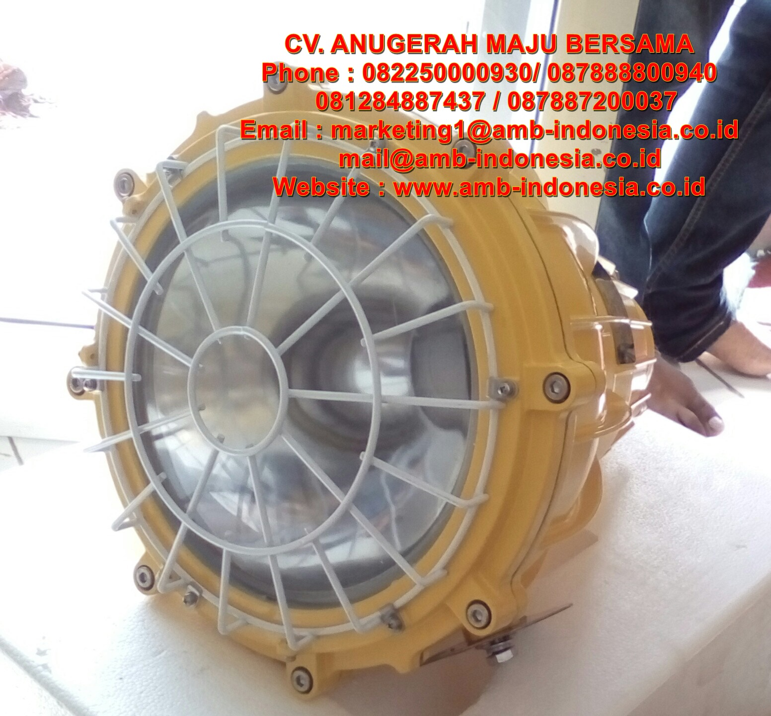 Warom Explosion Proof Electrical: Lampu Sorot Explosion