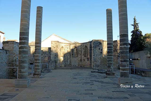 Ruinas de la Iglesia de San Juan Bautista, Baeza