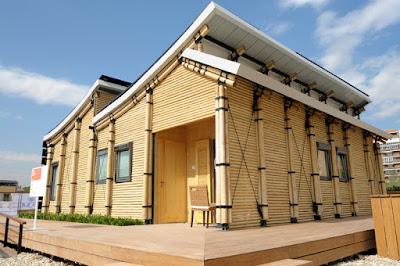 Desain Rumah Bambu Modern Dan Minimalis Khas Pulau Jawa