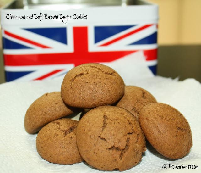 Cinnamon and brown sugar cookies kids friendly