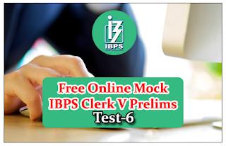 Free Online Mock Test for IBPS Clerk 2015 Prelims Exam