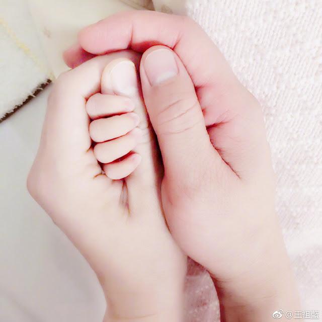 Wang Cholam Leanne Li welcome baby girl Dec 2018