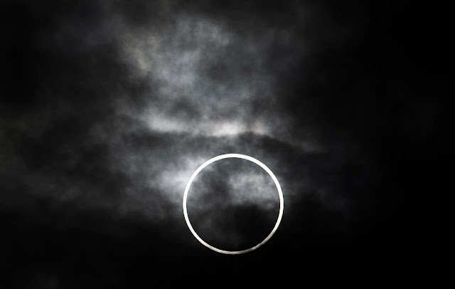 Solar Eclipse seen from Tokyo
