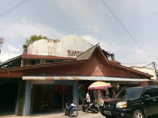 Sebuah gedung tertua yang ada di jalan pemuda tanjung batu