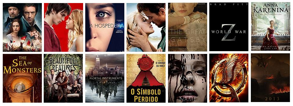 Filmes que são baseados em livros e você nem sabia!