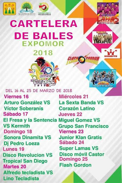 bailes expomor 2018