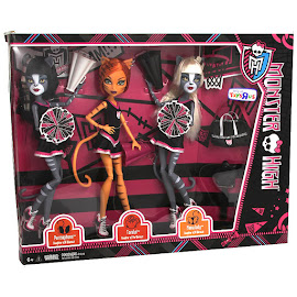 MH Go Monster High Team!!! Toralei Stripe Doll