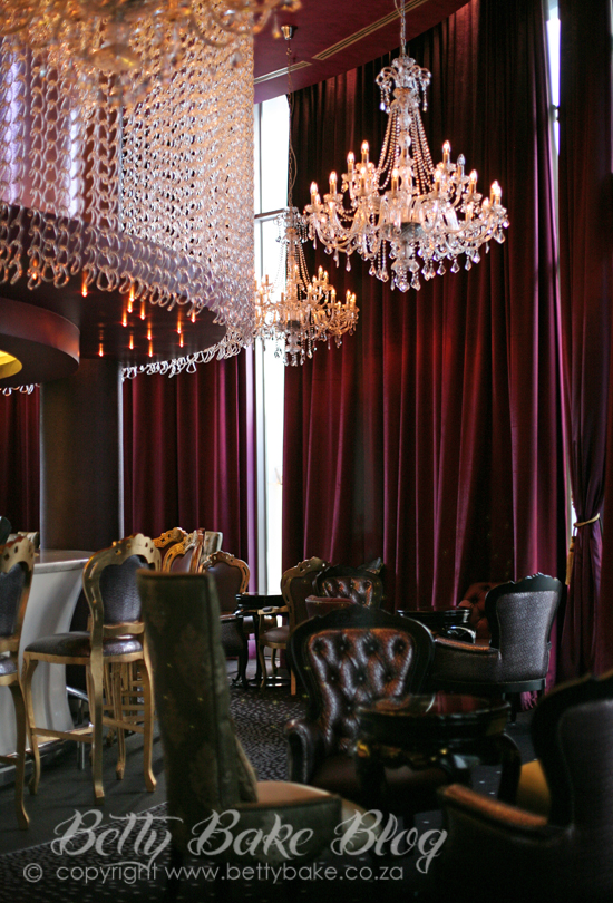 15 On Orange, hotel, Cape Town, african pride, decor, betty bake, blogger write up, hotel stay, chandelier, bar area,