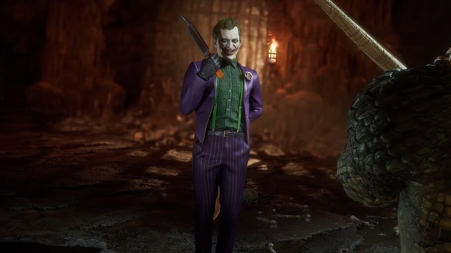 Joker Mortal Kombat 11 4k Wallpaper 7 777