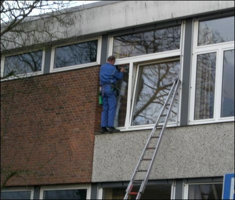 Window Cleaners In Leeds >> Robinson-Solutions Professional Window Cleaning: Window Cleaners Star In: Ladders, Tables ...