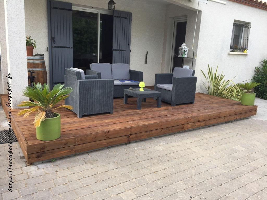 r cup et fait maison des id es r cup et d co fabriquer une terrasse en bois soi m me. Black Bedroom Furniture Sets. Home Design Ideas