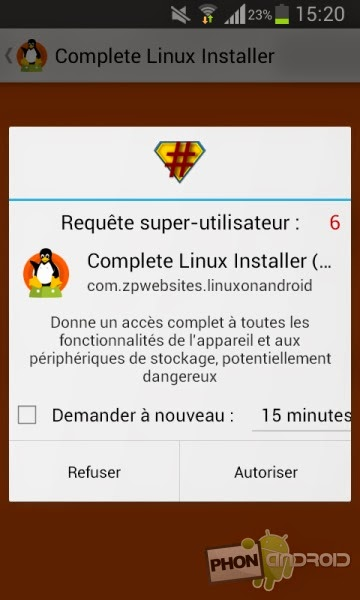 Sfr cloud android