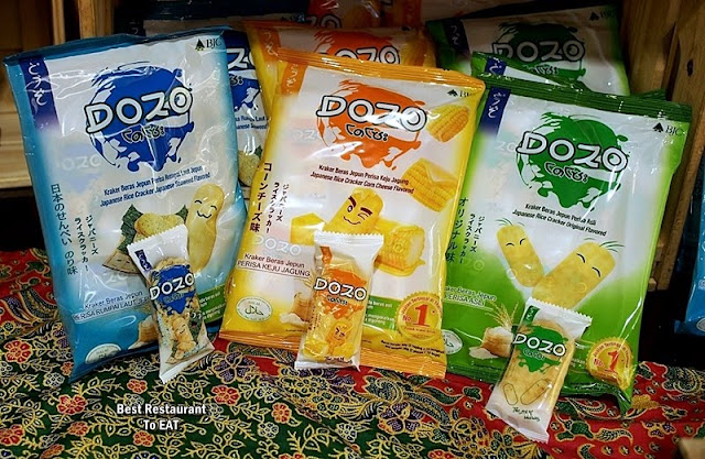 DOZO Japanese Rice Cracker Selection