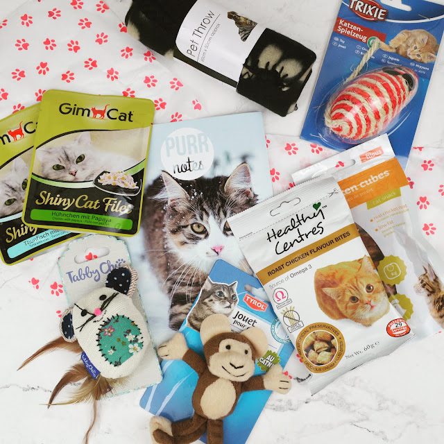 Lovelaughslipstick Blog - Review of Januarys Purrfectbox Cat Subscription Box