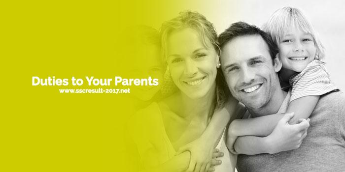 Duties to Your Parents Essay