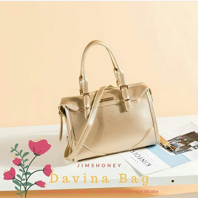 Jims Honey Davina Bag Gold