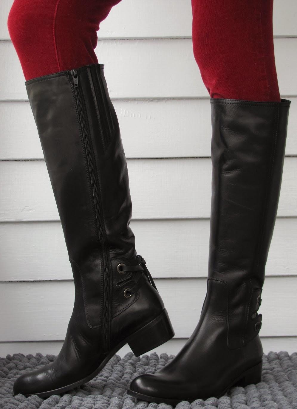 Howdy Slim Riding Boots For Thin Calves Sesto Meucci Boyle