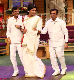 The Kapil Sharma Show with Abbas Mustan and Machine cast   TV Show Pics March 2017 03.JPG